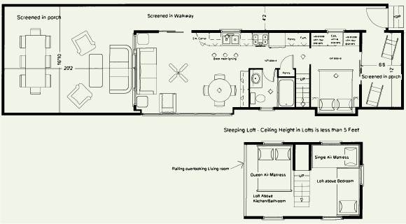 cabin resort plans